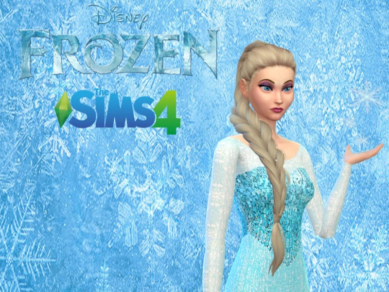 Elsa Music Lover Trait Pose - Sims 4 Mod Download Free