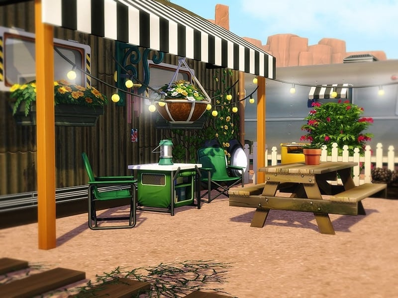 Happy Camper Life 2 - Sims 4 Mod Download Free