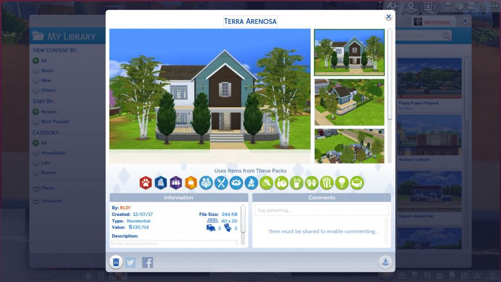 How to install Sims 4 Mods | How to install Sims 4 house, lots