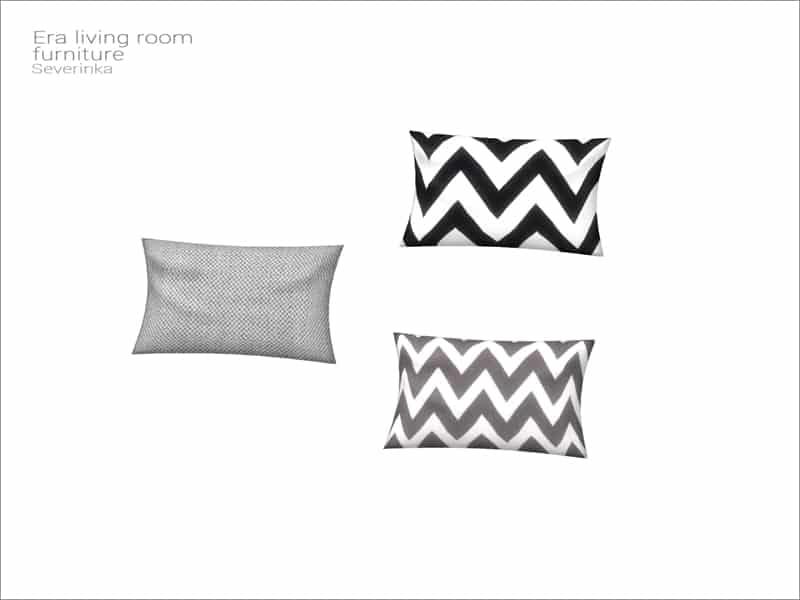 Decorative Toss Pillow Sim 4 Throw Pillow Case