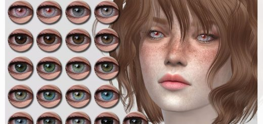 Eye Colors Sims 4 Mods | Sims 4 Eye Colors Mod Download Free