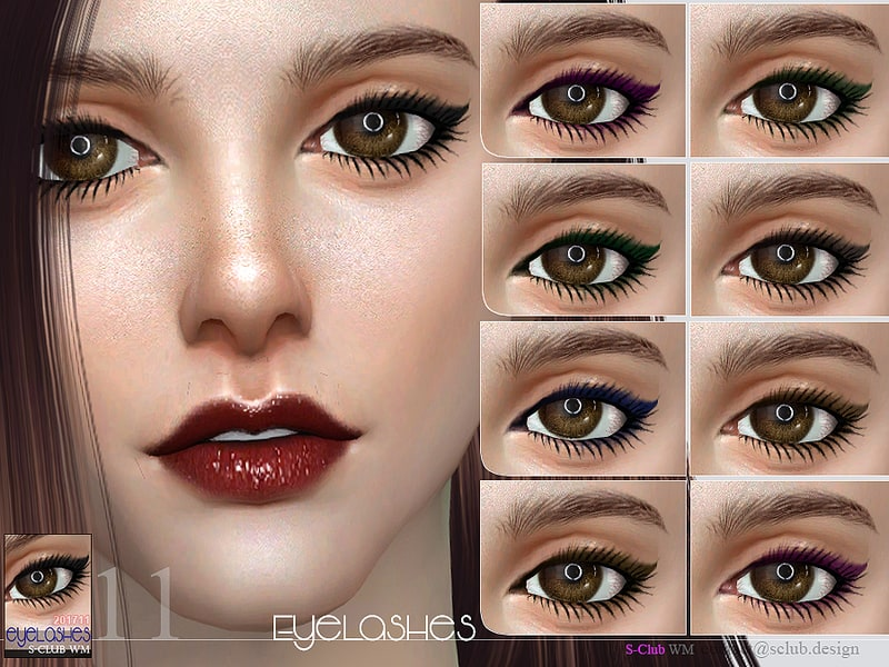 e0595d0ae73 S-Club WM ts4 eyelashes 201711 - Sims 4 Mod Download Free