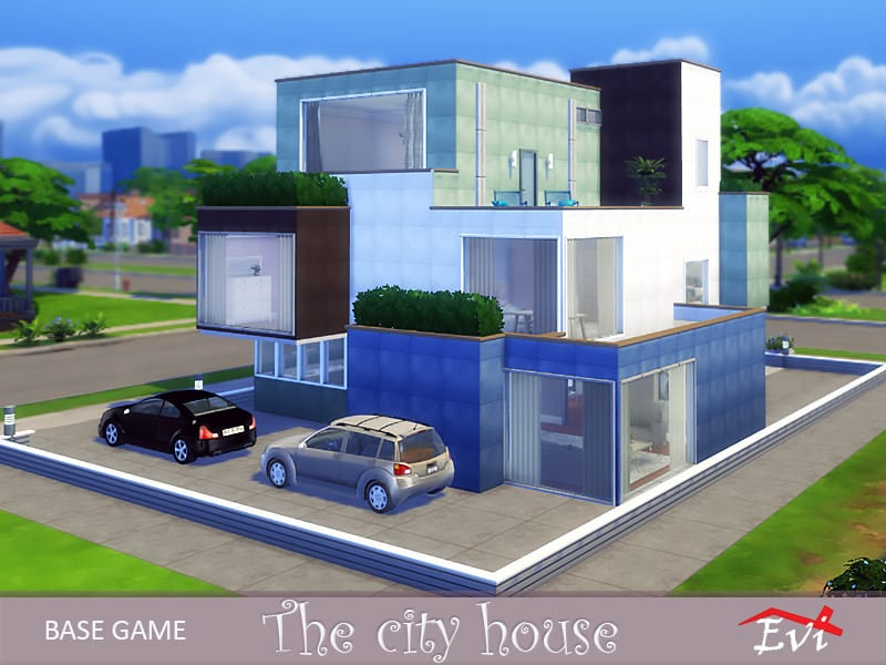 The city house - Sims 4 Mod Download Free